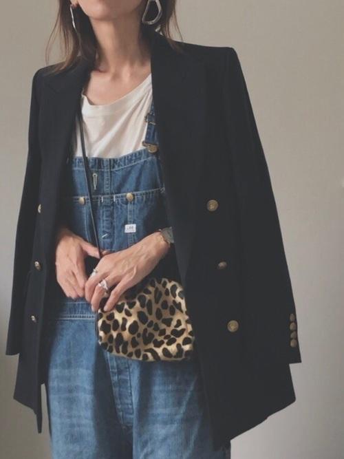 [Lee SHOP] 中村アンさん着用 オーバーオール デニム