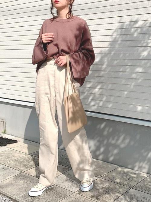 [RETROGIRL] センターシームパンツ