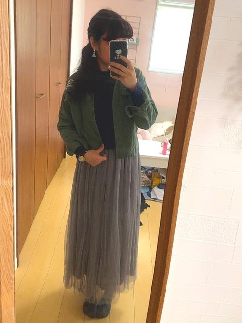 しまむら プリーツスカート20