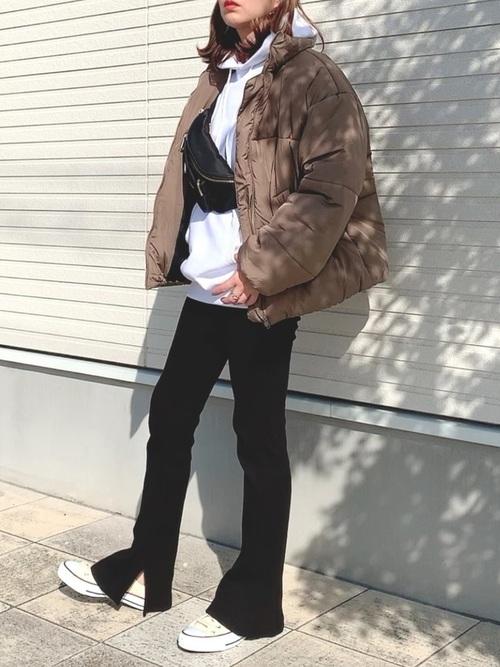 [Chaco closet] カラーエコダウンジャケット