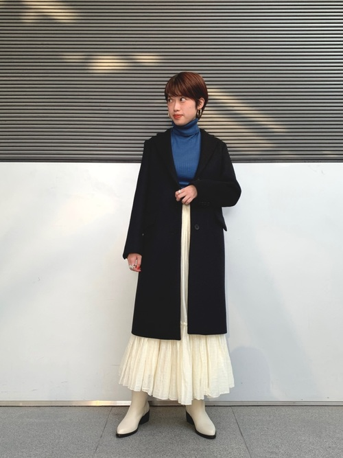 [SHIPS for women] Soi-e:ティアードマキシスカート