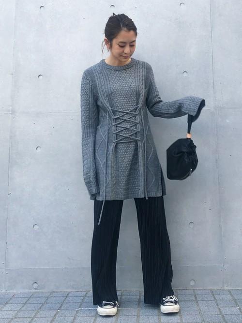 [UNITED TOKYO] レザーパースバッグ