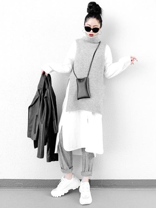 【大阪】3月におすすめの服装:ワンピースコーデ2