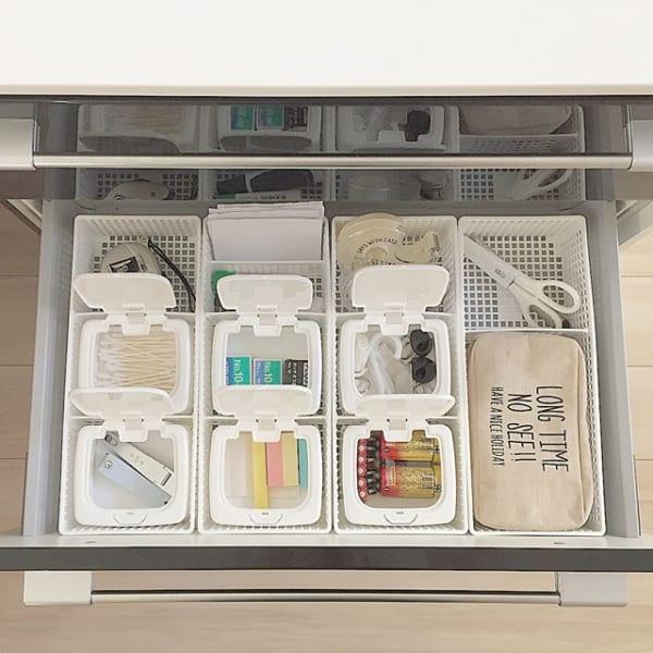 便利で使いやすいキッチン小物収納方法1111