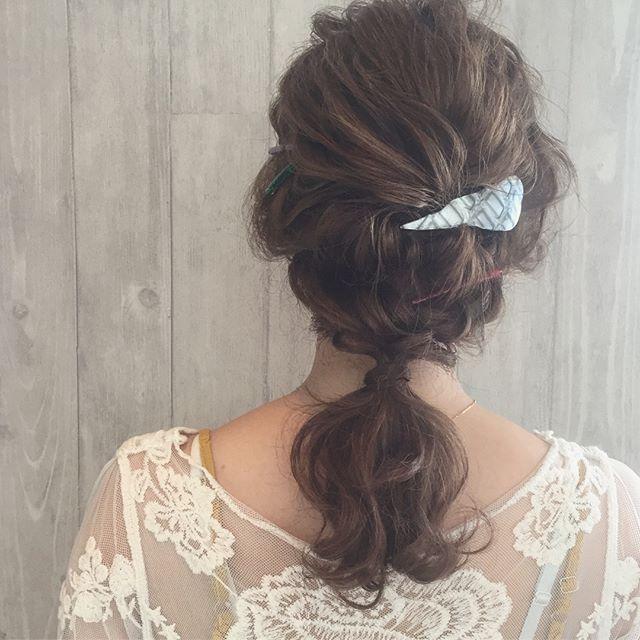 バレンタイン おすすめ 髪型 ミディアムヘア4