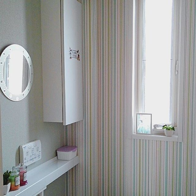 トイレ 壁紙4