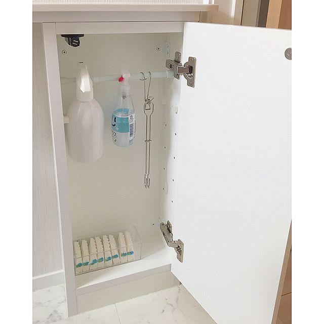 洗剤の収納アイデア8