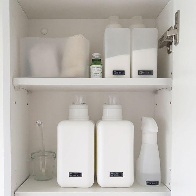 洗剤の収納アイデア