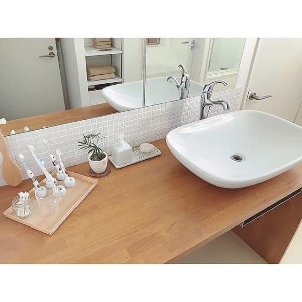 ミニマリスト洗面所のおすすめインテリア