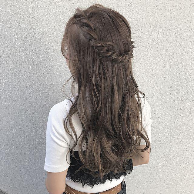 バレンタイン おすすめ 髪型 ロングヘア6