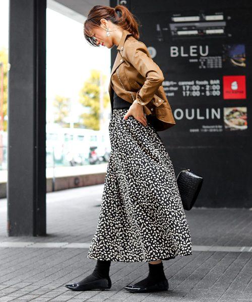 【大阪】3月におすすめの服装:スカートコーデ3