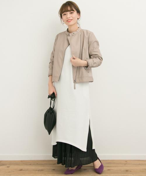 【大阪】3月におすすめの服装:ワンピースコーデ3