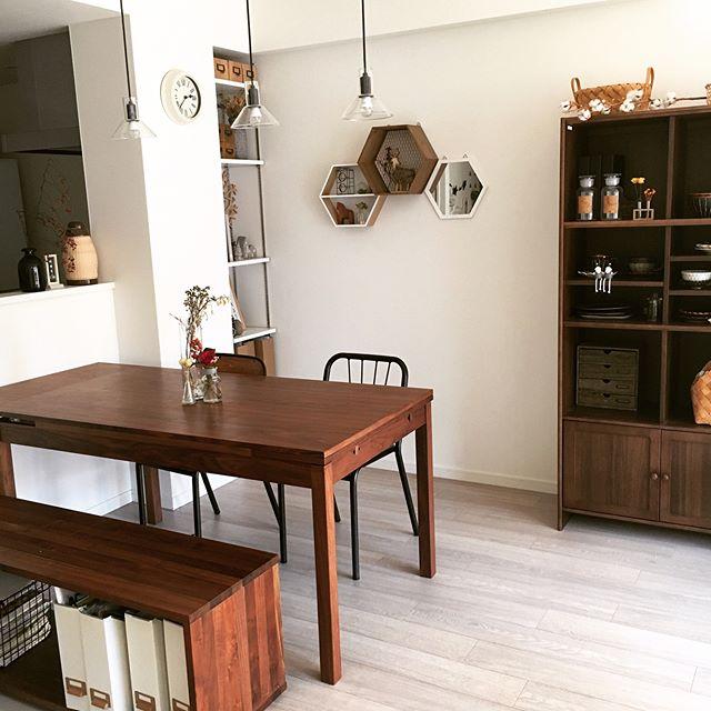 上品で落ち着きのあるカフェ風の部屋作り