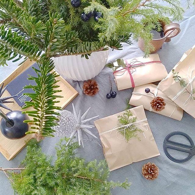 クリスマスツリーとアレンジメント4