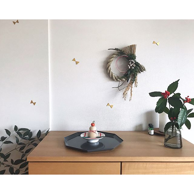 鏡餅をおしゃれに飾るアイデア7