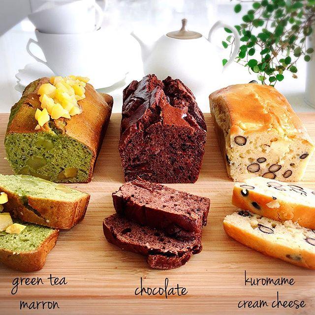 人気の手作りお菓子!パウンドケーキ