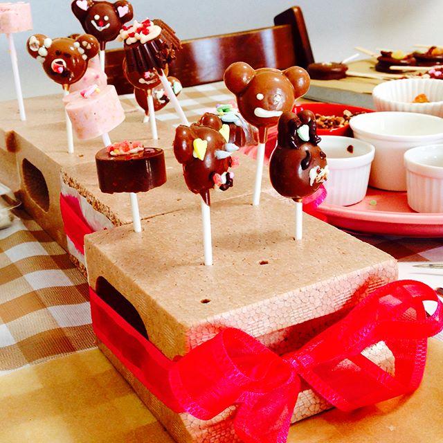 子供 簡単 チョコレートレシピ チョコポップ2