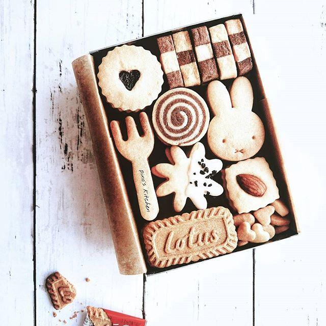 バレンタインに美味しい詰め合わせのクッキー缶