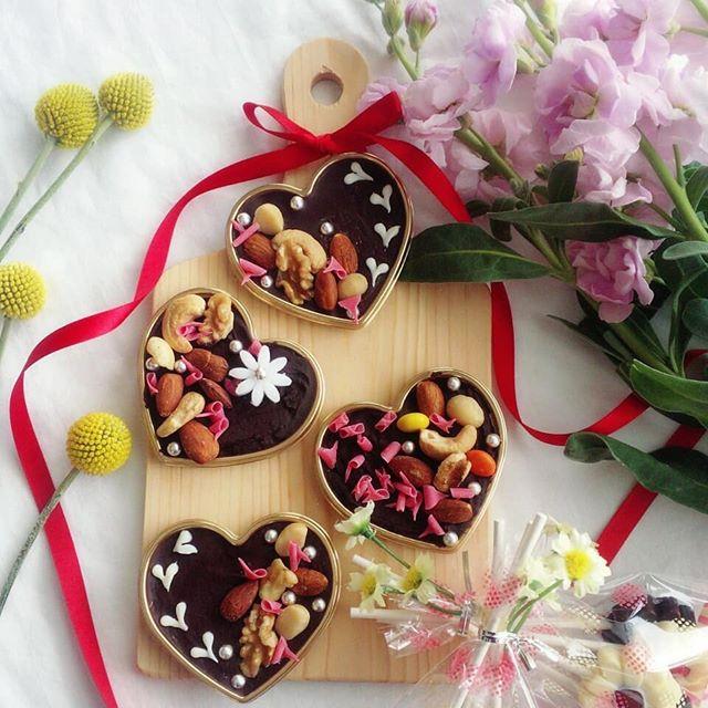 子供 簡単 チョコレートレシピ 型抜きチョコ3