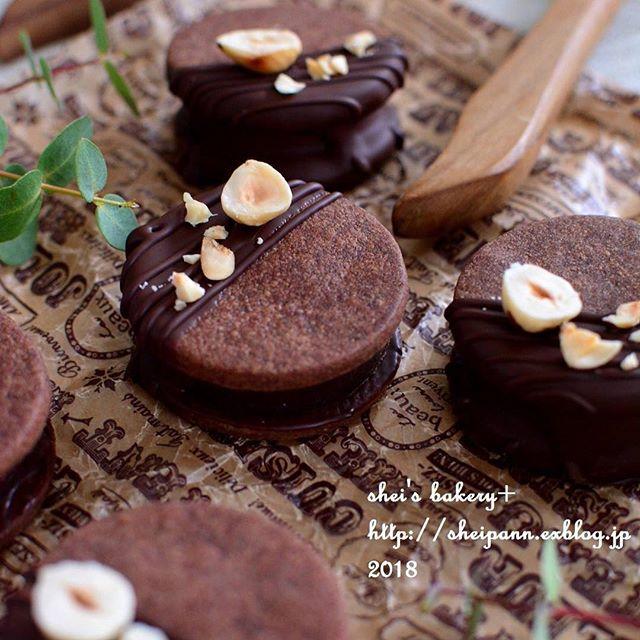 バレンタイン チョコレシピ クッキー