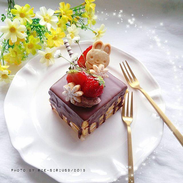バレンタイン ケーキ8