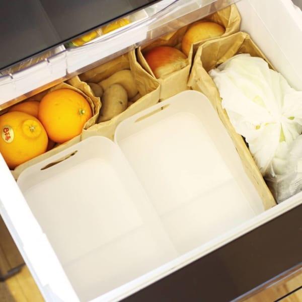 冷蔵庫 野菜室 整理整頓9