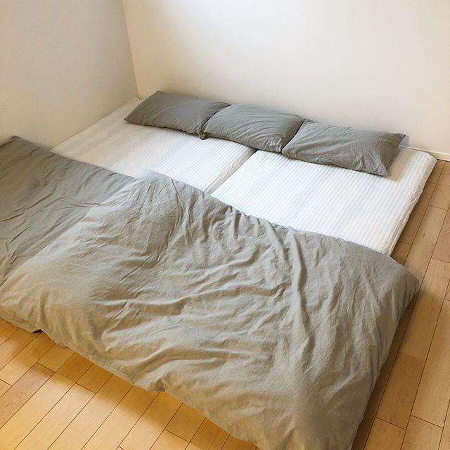ミニマリストの寝室インテリア4