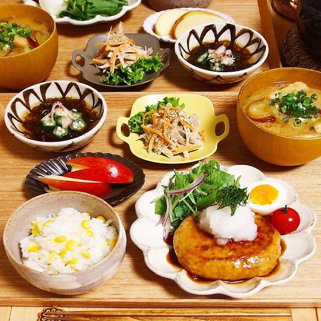 照り焼きおろしの人気レシピ!木綿豆腐ハンバーグ