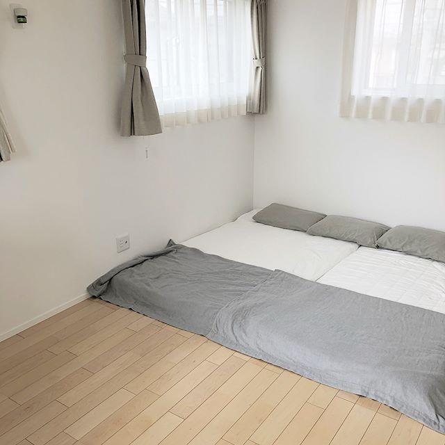 ミニマリスト 寝室 インテリア6