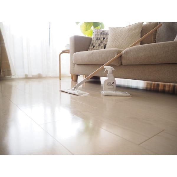 【無印】フローリングシートで床の簡単拭き掃除
