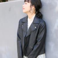 今年の秋も大人気アイテム☆「ライダースジャケット」を使ったコーデ特集