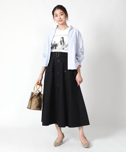 [FREAK'S STORE] トレンチスカート