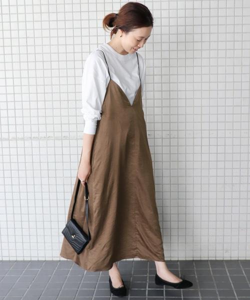 台湾 3月 服装 ワンピースコーデ4