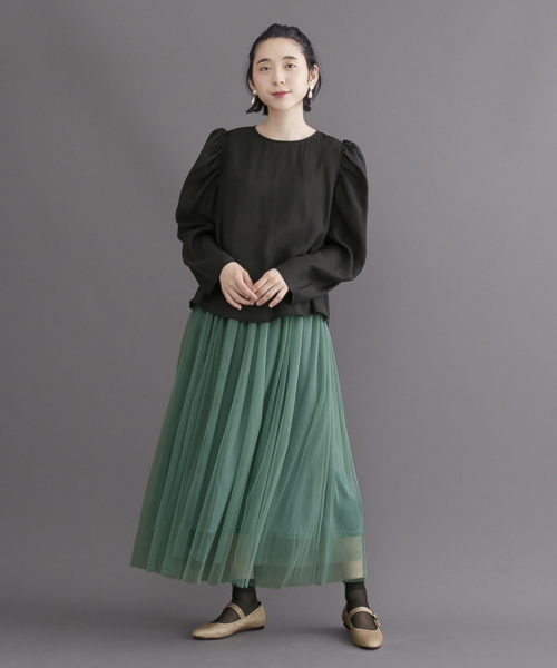 [merlot] チュールスカート006-8527