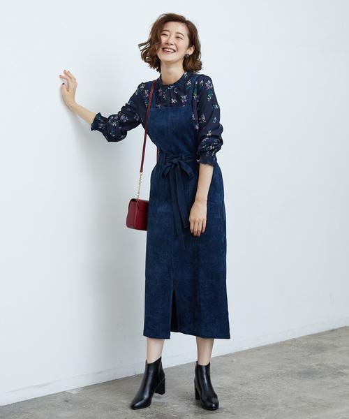 [ROPE' PICNIC] 【2WAY】ちびコールサロペスカート
