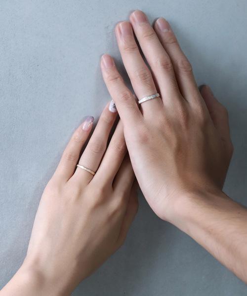 [SIENA ROSE] Toi et Moi・ペアリング[flux-フリュ-(流れ・水流)][メンズ]