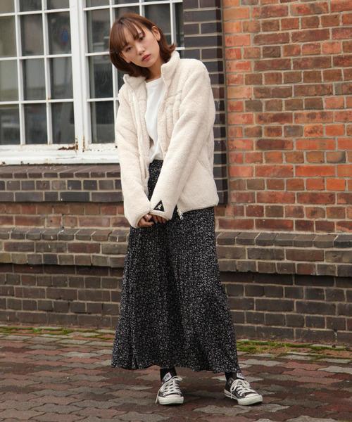 【大阪】3月におすすめの服装:スカートコーデ
