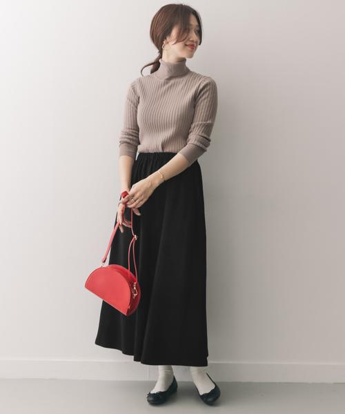 [URBAN RESEARCH DOORS] カットソーロングギャザースカート