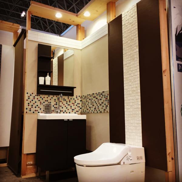 高級リゾート感のあるトイレ作り