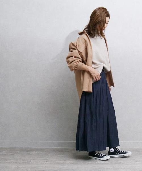 [reca] 消しプリーツスカート