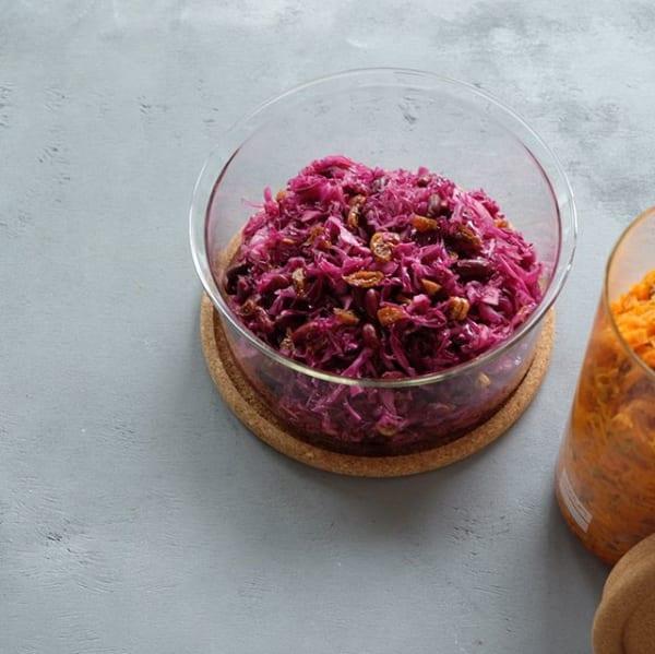彩り綺麗な作り置き!紫キャベツのマリネ
