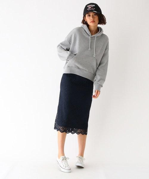 [aquagirl] レースナロースカート