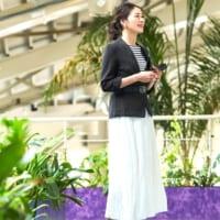 【2020春】スカートで大人フェミニン♡オフィスカジュアルのお手本コーデ