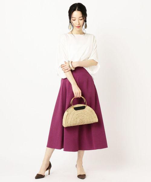 [SHIPS for women] フレアスカート