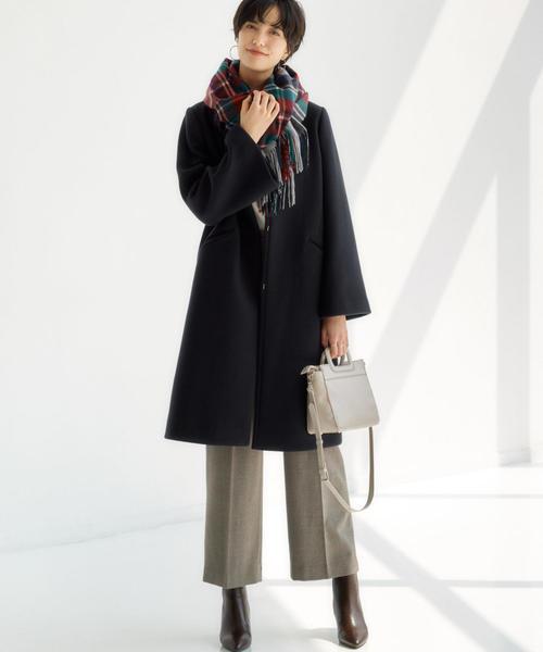 北海道 3月 服装 パンツコーデ2