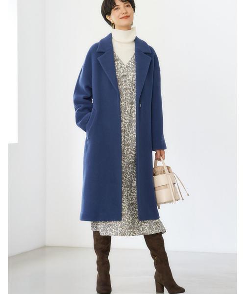 北海道 3月 服装 ワンピースコーデ2