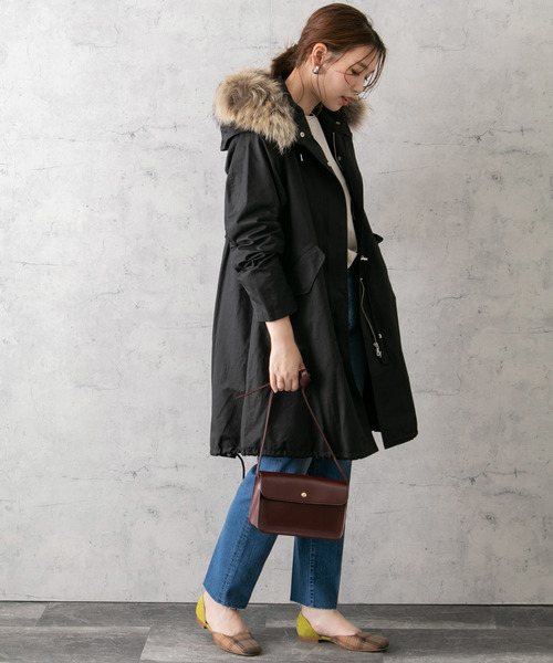 [URBAN RESEARCH ROSSO WOMEN] モッズコート