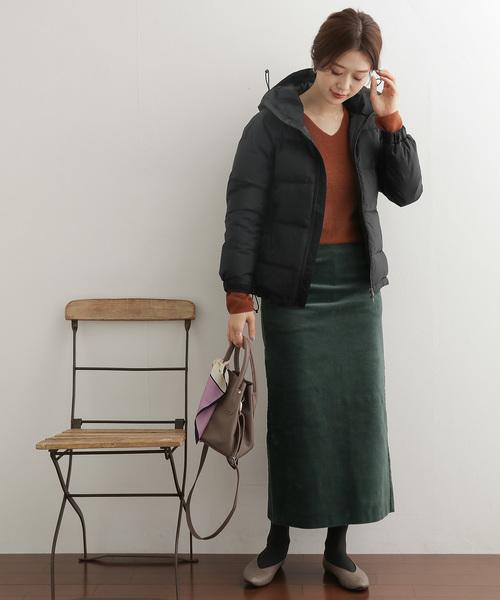 北海道 3月 服装 スカートコーデ4