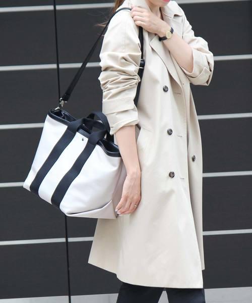 [VitaFelice] テープハンドルトートバッグ レディースバッグ A4 斜めがけ 2way ショルダーバッグ 旅行バッグ 通勤バッグ マザーバッグ