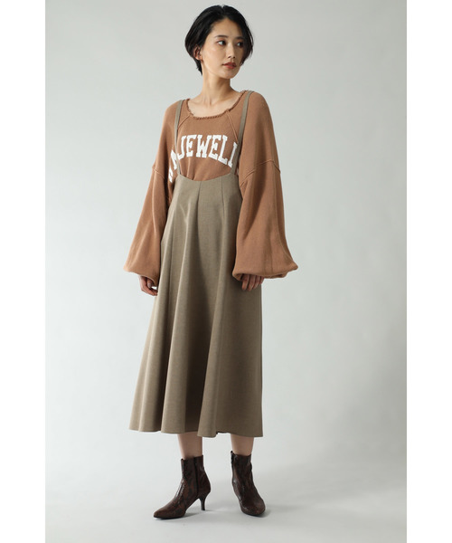 [ROSE BUD] サロペットスカート